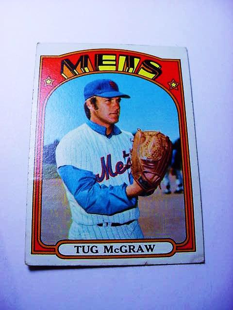1972 Topps 163 Tug Mcgraw Baseball Card