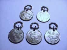 [5] COIN PENDANTS