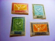 [4] SPAIN GOYA AIRMAIL STAMPS