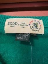 Lot 24: Vintage 1988 US Open The Country Club GOLF Sweater * NEW w/ Tag Rare * IZOD