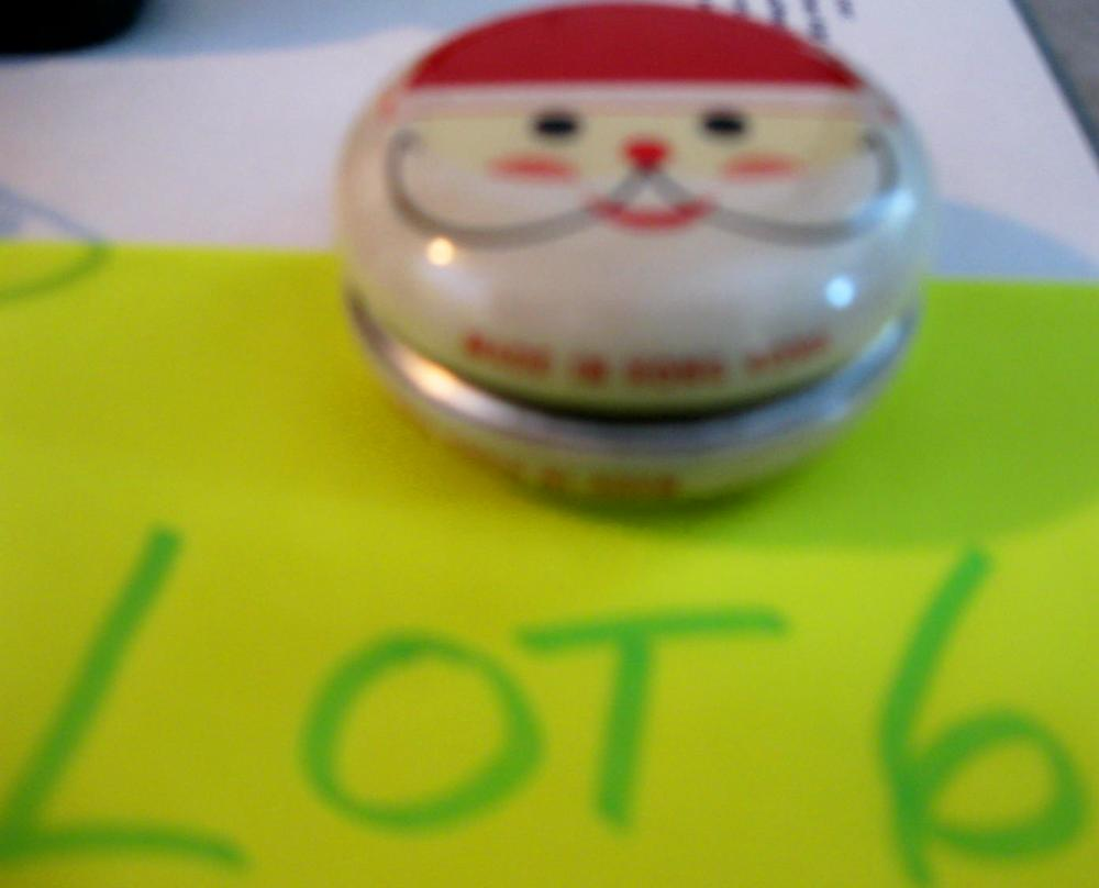 Vintage Yo-Yo Christmas SANTA made in Hong Kong