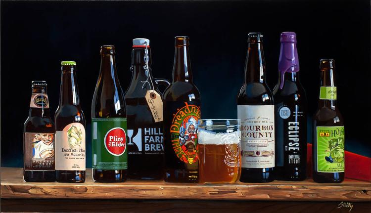 ART OF CRAFT BEER (18 x 32) by Thomas Stiltz
