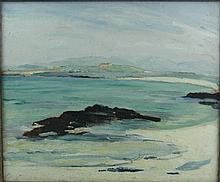 Eva Henrietta Hamilton (1876 - 1960)  ''West of Ireland Coastal Scene with