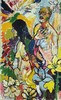 John Bratby, British R.A. (1928 - 1992)  ''The Artist with Diana and the Li, Diana Block, €1,500