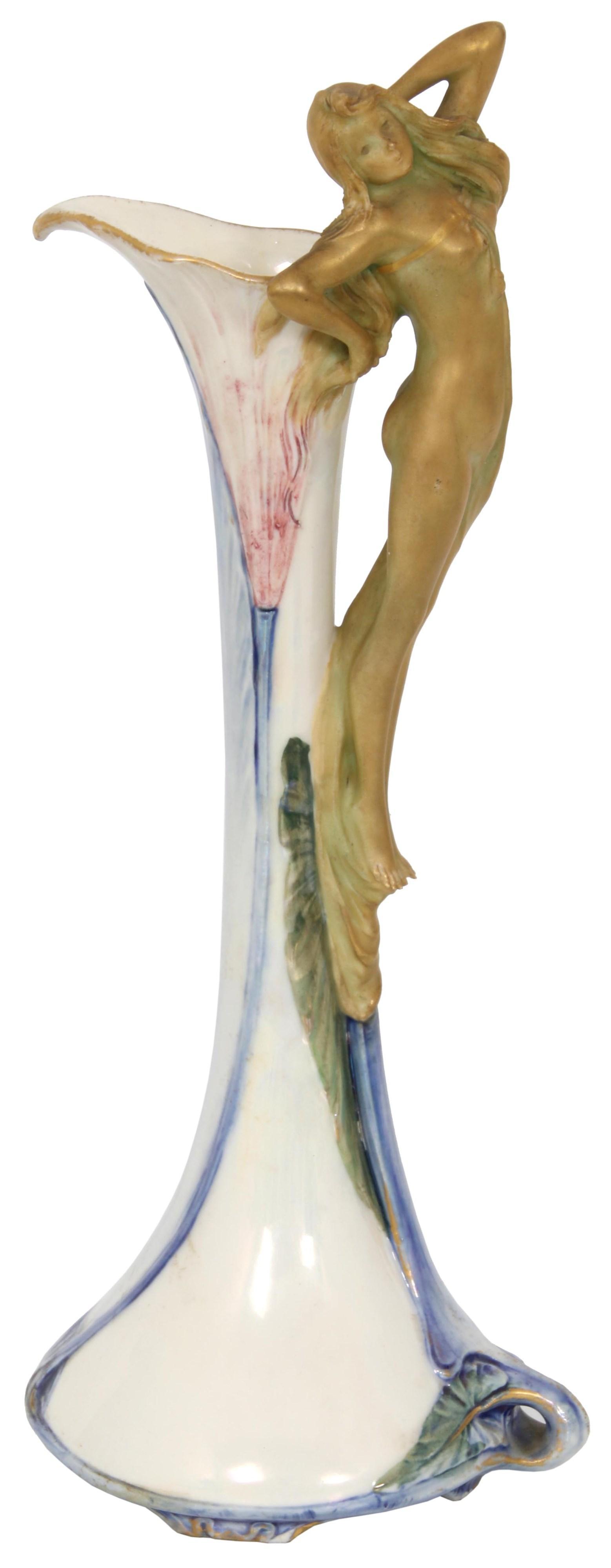 Ernst Wahliss Turn Wien Vase