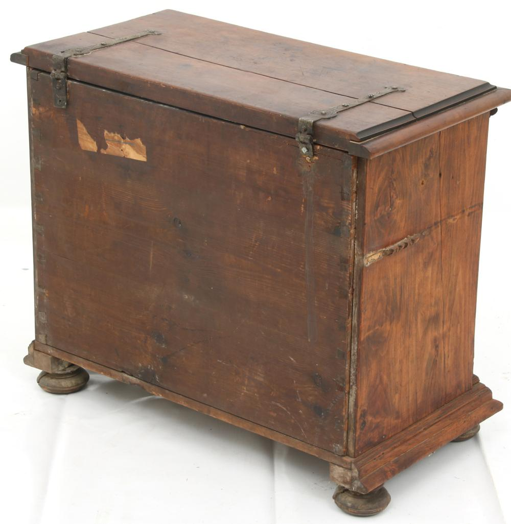 Italian Carved & Inlaid Chest