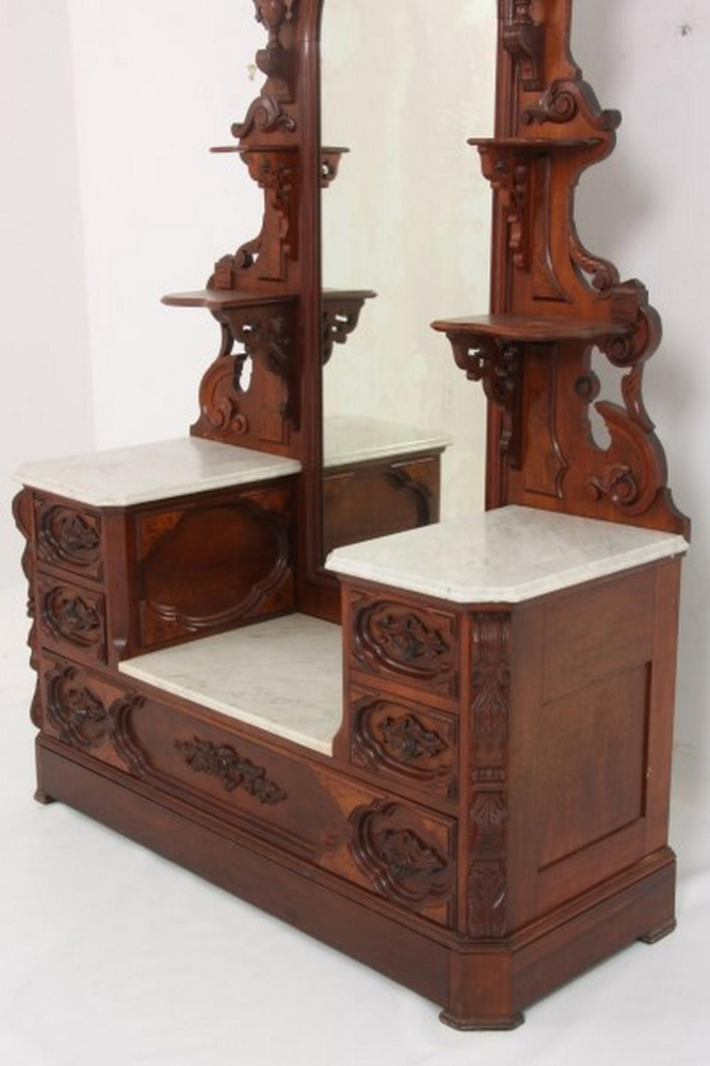 Renaissance Revival Two Piece Bedroom Set