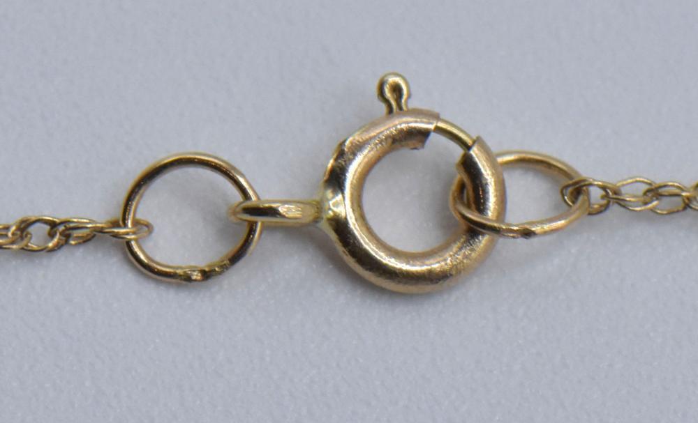 10K Yellow Gold & Diamond Jewelry Set