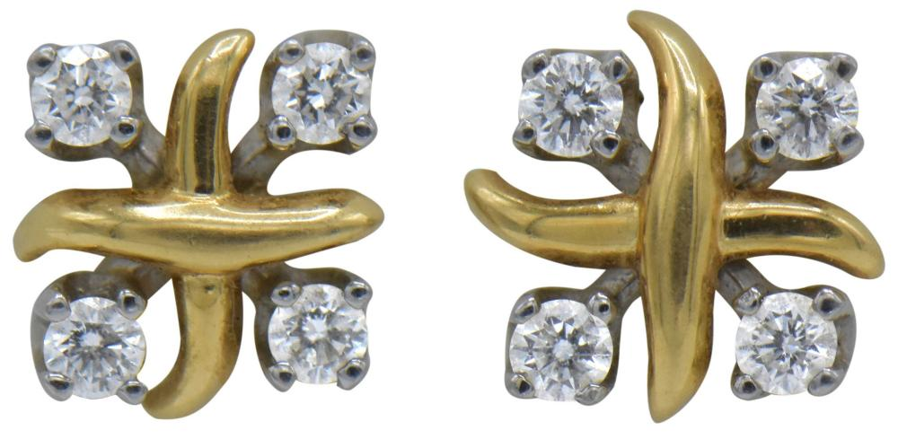 Tiffany & Co. Diamond Stud Earrings