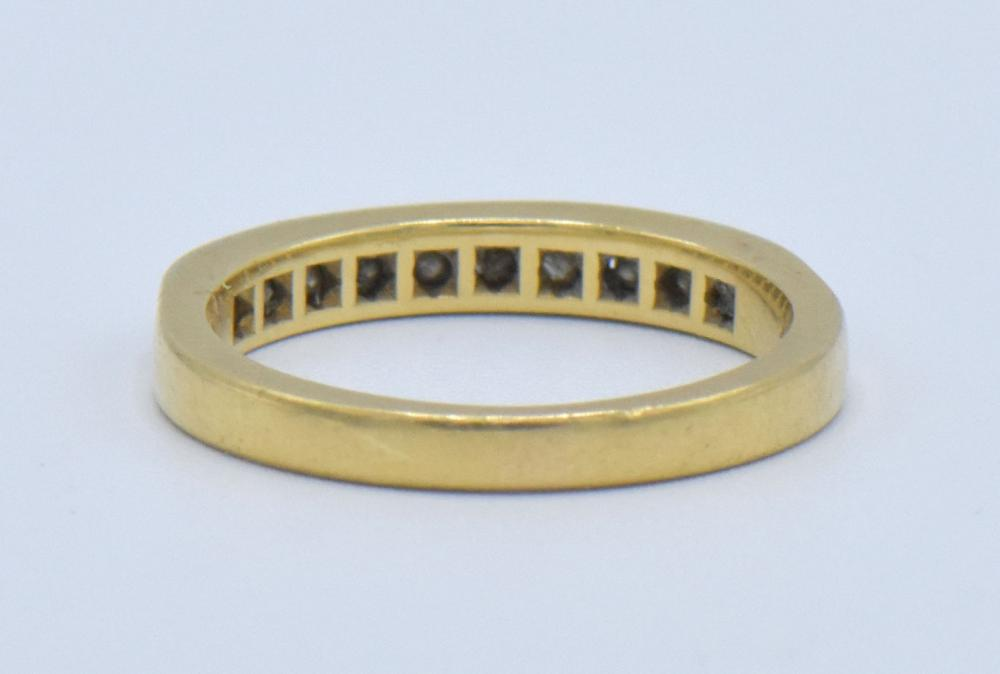 Two Black Starr & Frost 18K Yellow Gold Rings