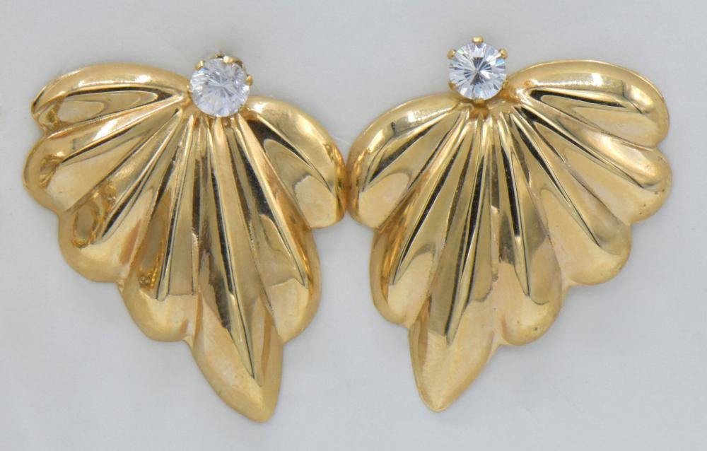 Seven Pairs of Gold Earrings
