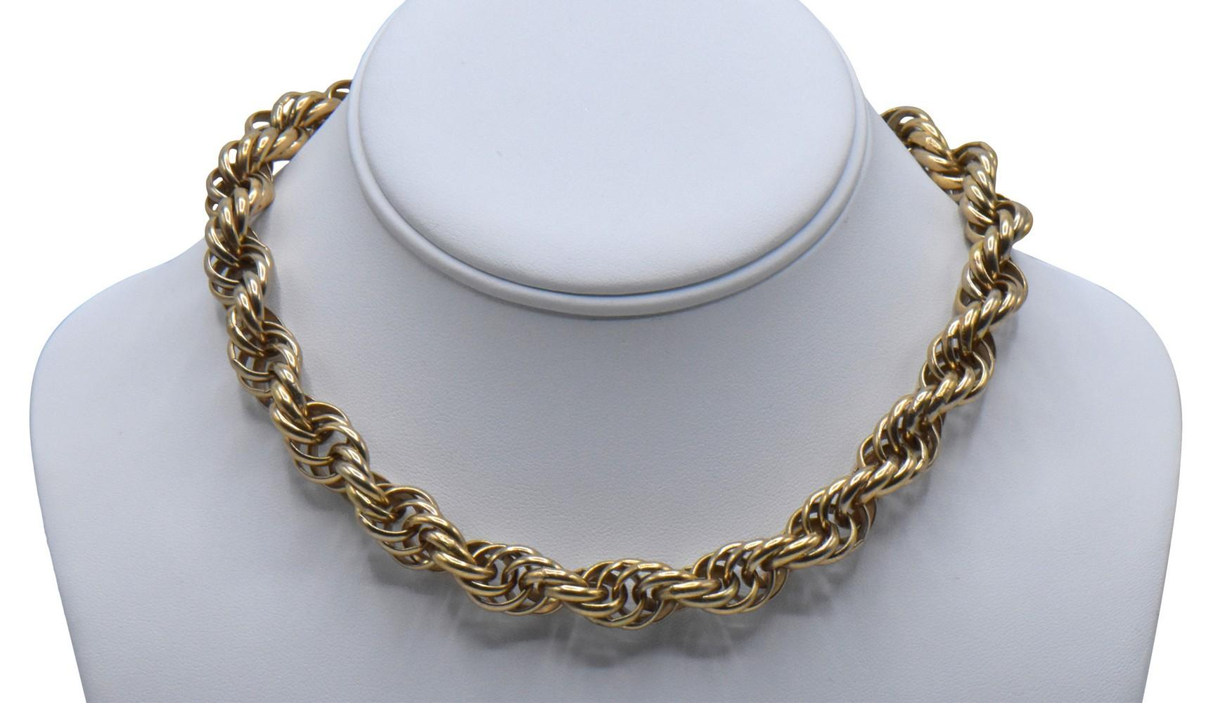10K Yellow Gold Necklace