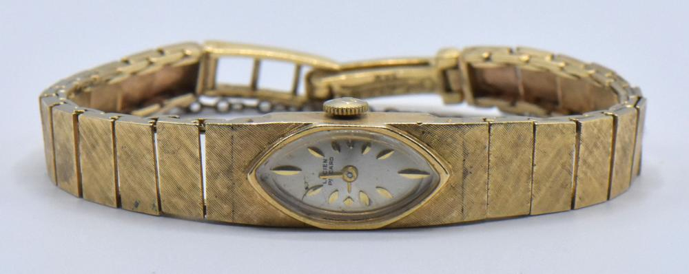 14K Yellow Gold Lucien Piccard Watch