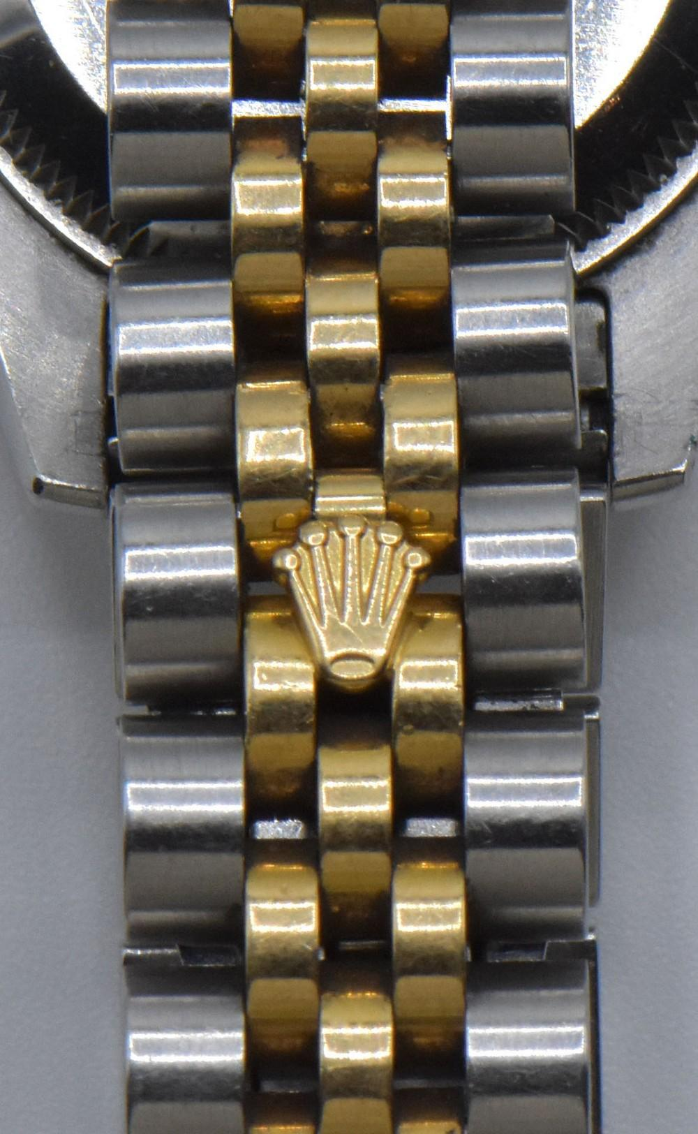 18K Gold Rolex Oyster Perpetual Watch in Box