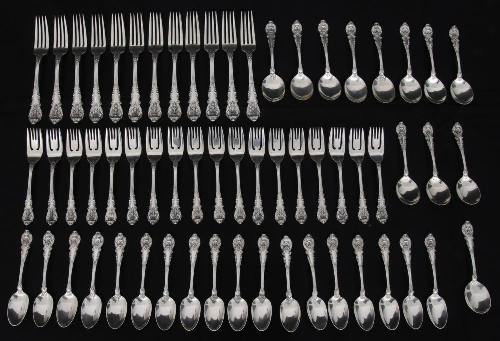 "Wallace ""Sir Christopher"" Sterling Flatware Set"