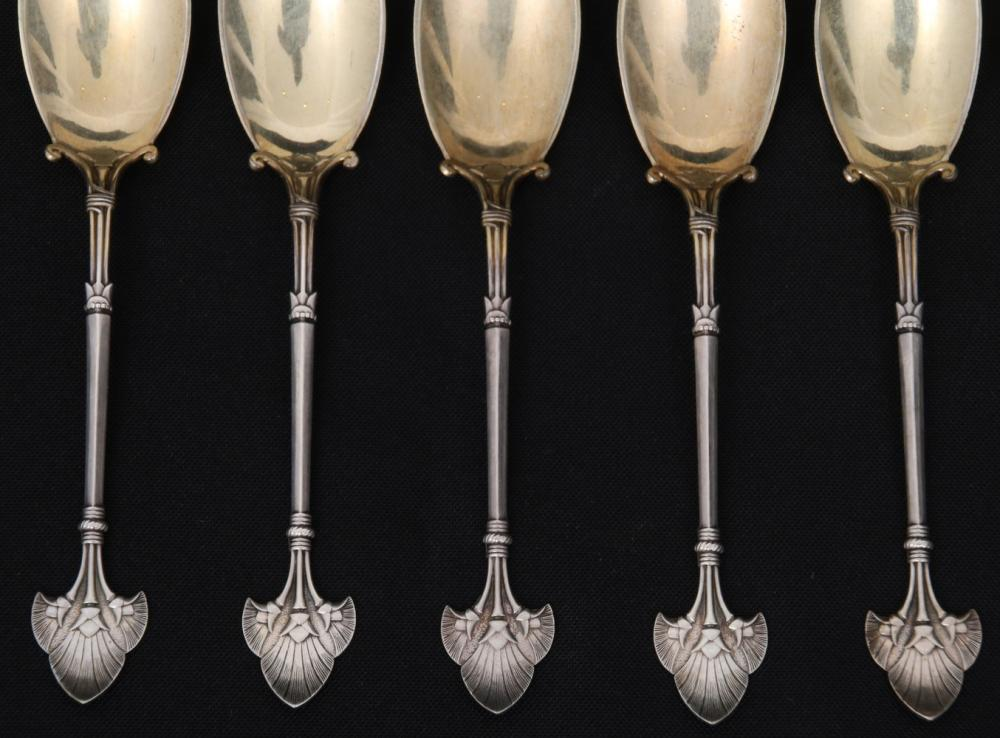 "Gorham ""Lotus"" Flatware Pieces"