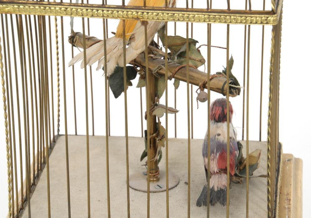 French Double Singing Bird Automaton