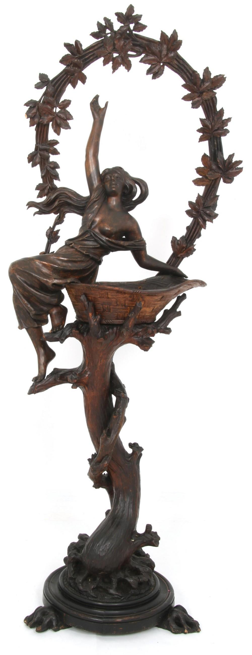 Black Forest Figural Carving