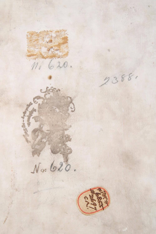 K.P.M. Plaque of Two Children