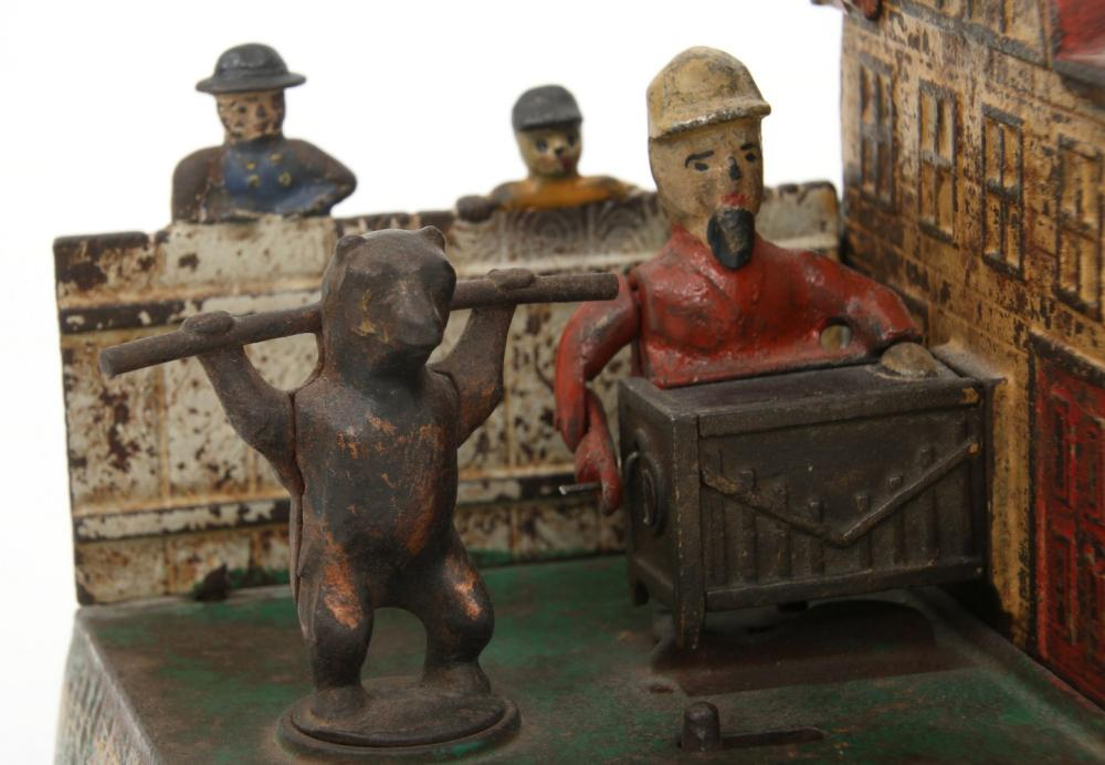 Kyser & Rex Organ Grinder & Bear Mechanical Bank