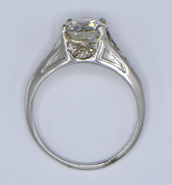 Platinum & 1.50 ct. Diamond Ring