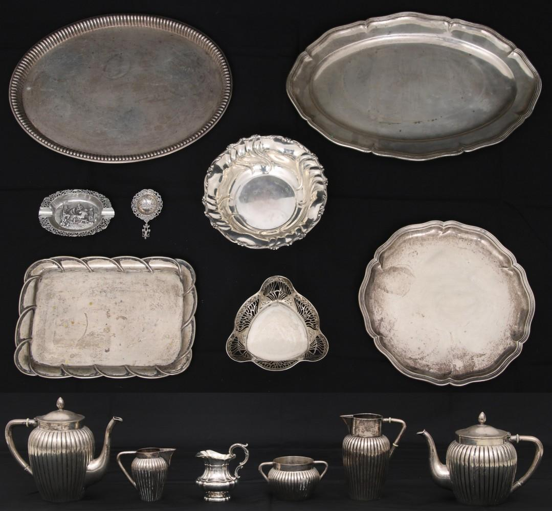 Lot of 21 Pieces of 800 Silver