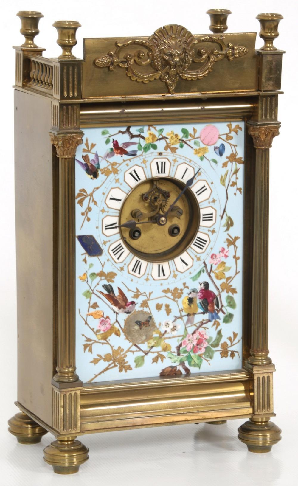 French Three-Piece Clock Set