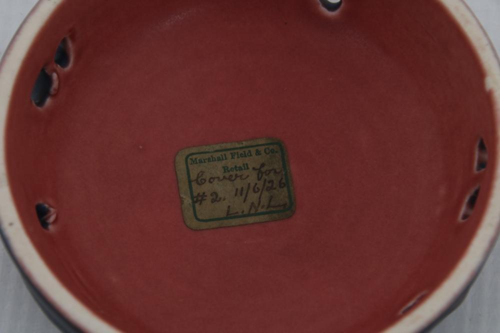 Rookwood Pottery Matte Potpourri Jar