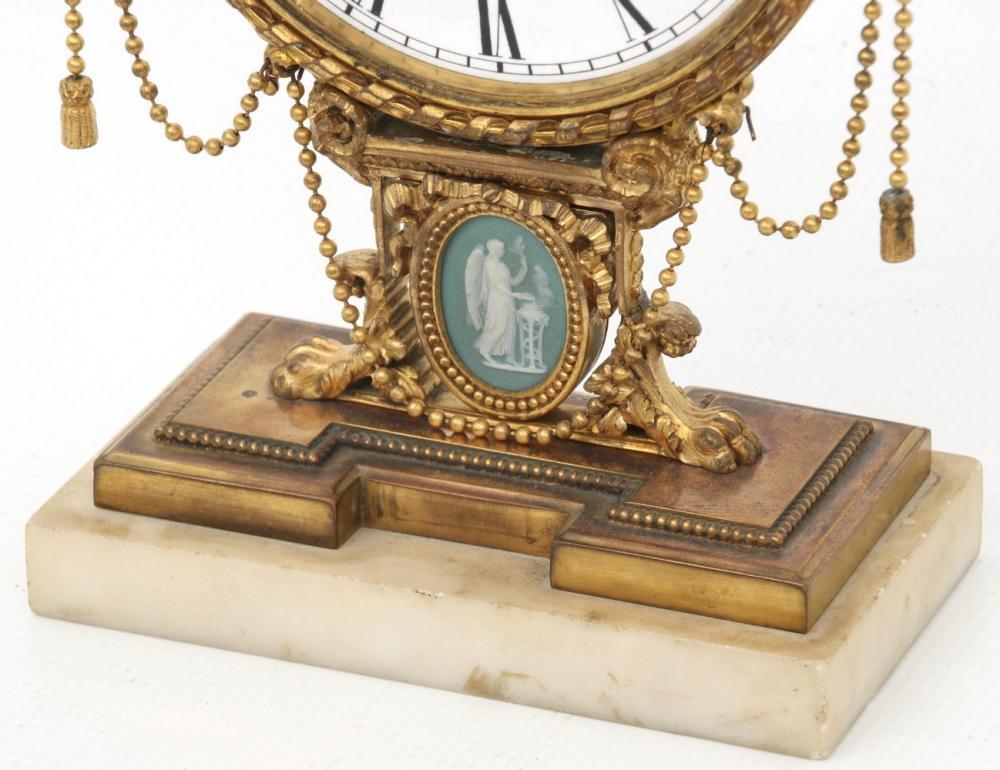 E.F. Caldwell & Co. Desk Clock