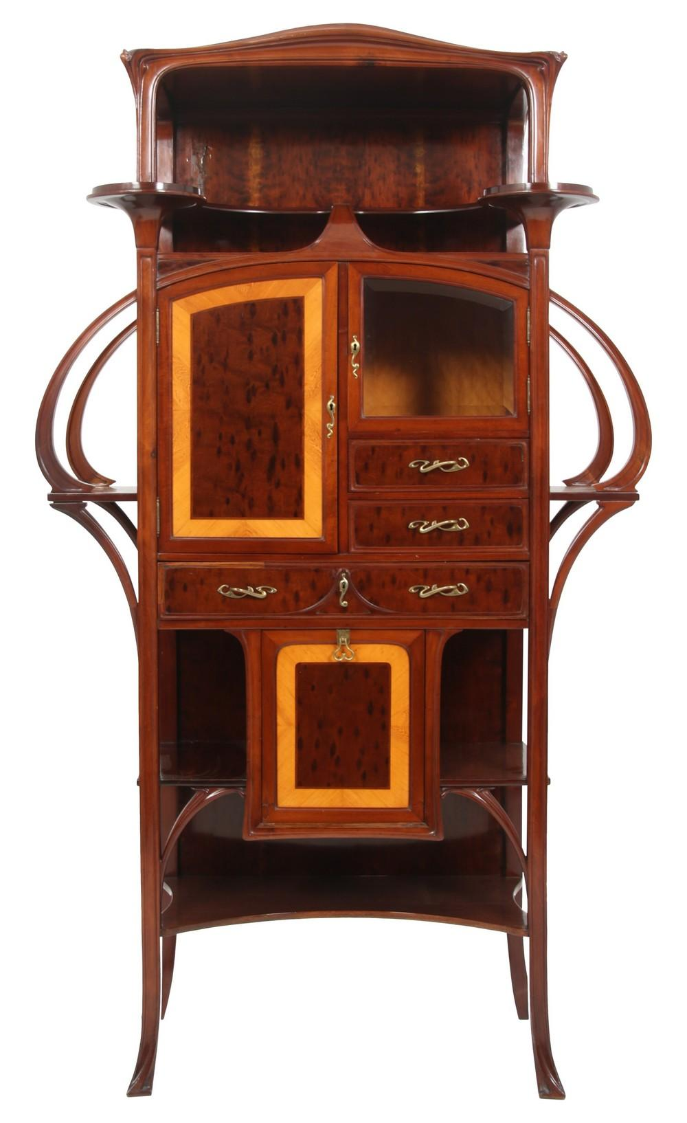 French Art Nouveau Cabinet