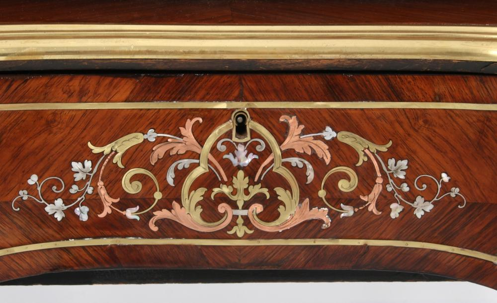 Mermod Freres Marquetry Cylinder Music Box