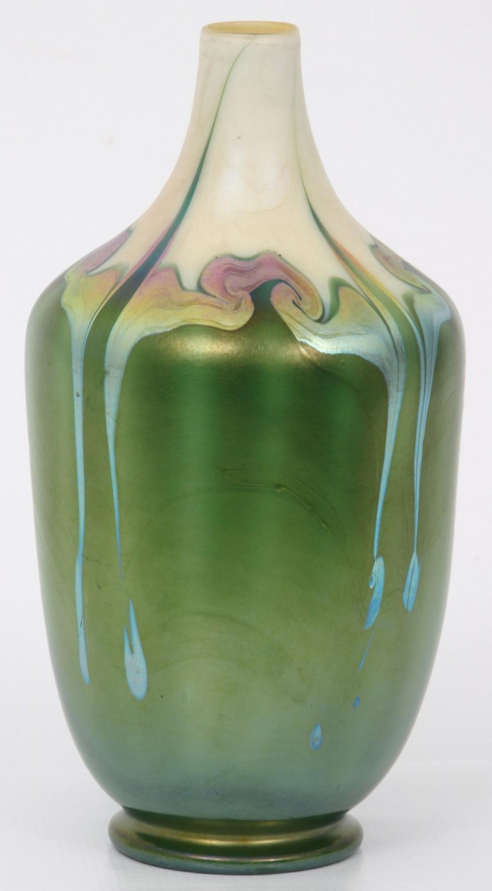 Tiffany Studios Decorated Vase