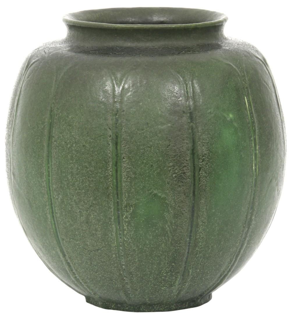 Grueby Glazed Earthenware Vase