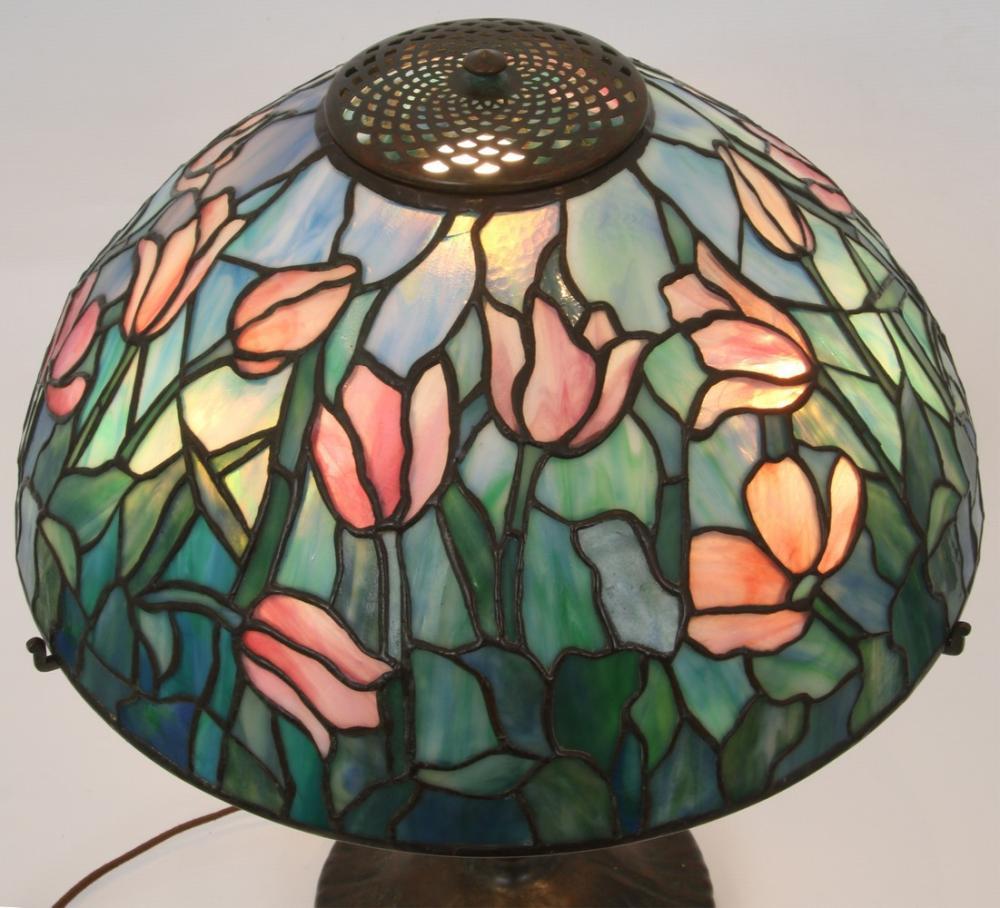 "Tiffany Studios ""Tulip"" Table Lamp"