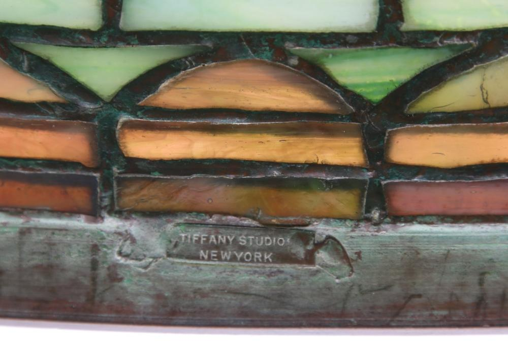 "Tiffany Studios ""Tyler Scroll"" Table Lamp"