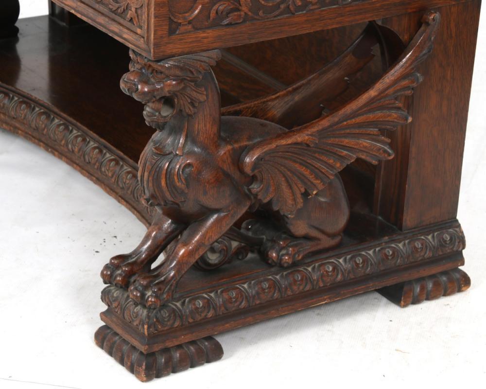 R.J. Horner & Co. Drop Front Desk