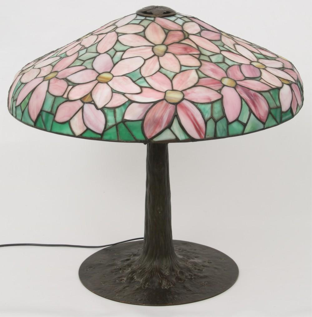 Suess Floral Table Lamp