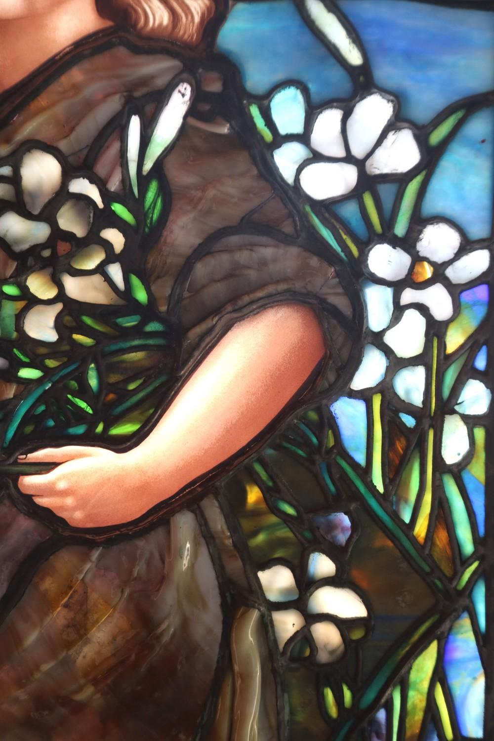 American Stained & Leaded Glass Window