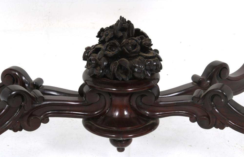 American Rococo Revival Center Table