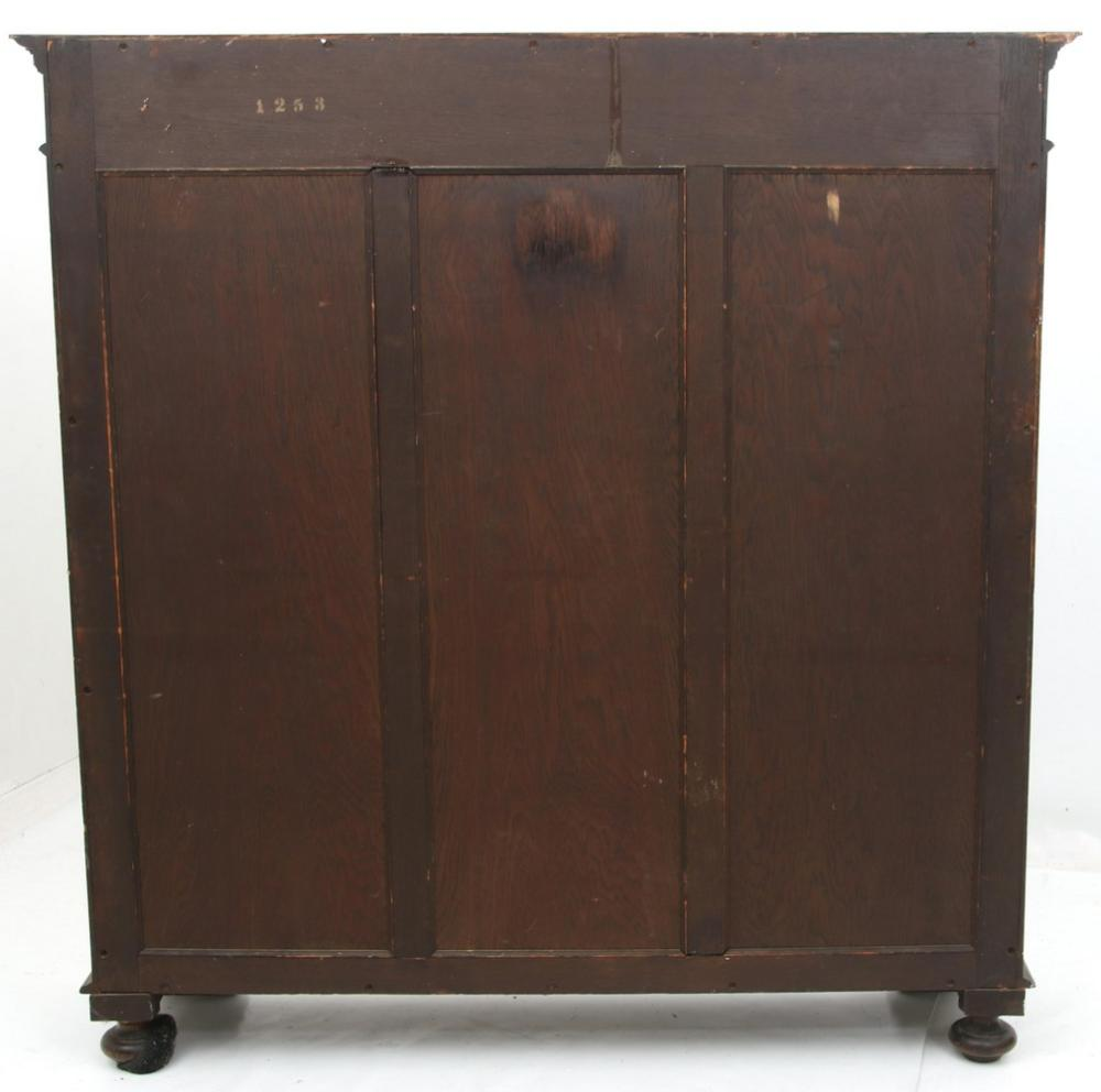 R.J. Horner & Co. Two Door Bookcase