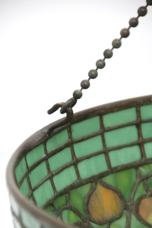 "Tiffany Studios ""Acorn & Turtle-Back"" Chandelier"