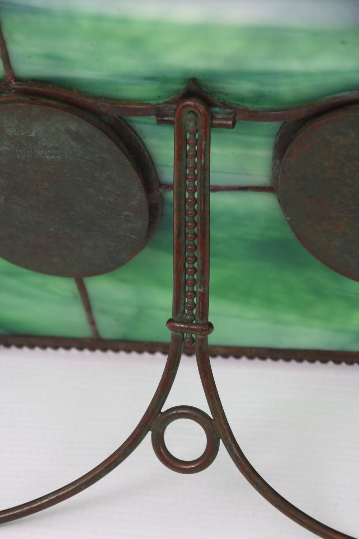 "Tiffany Studios ""Pine Needle"" Double Picture Frame"