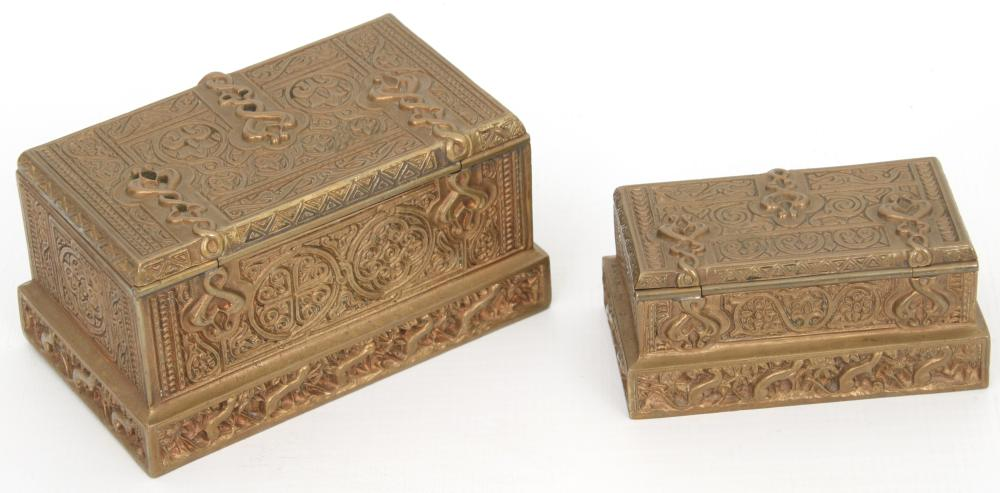 "Tiffany Studios ""Venetian"" Desk Set"