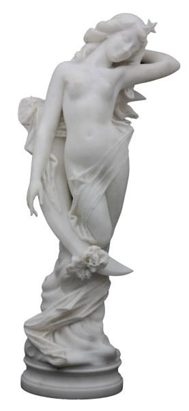 Sold Price: R. Battelli Carrara Marble Sculpture Diana