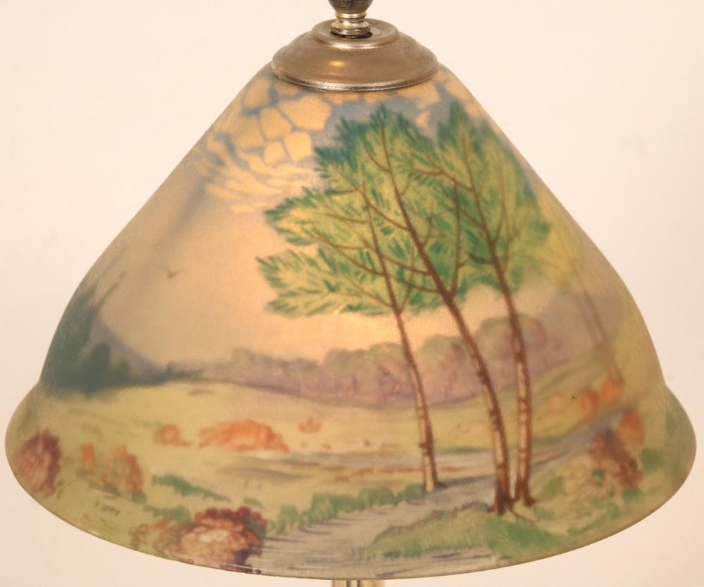 """Pairpoint """"Carlisle"""" Boudoir Lamp"""
