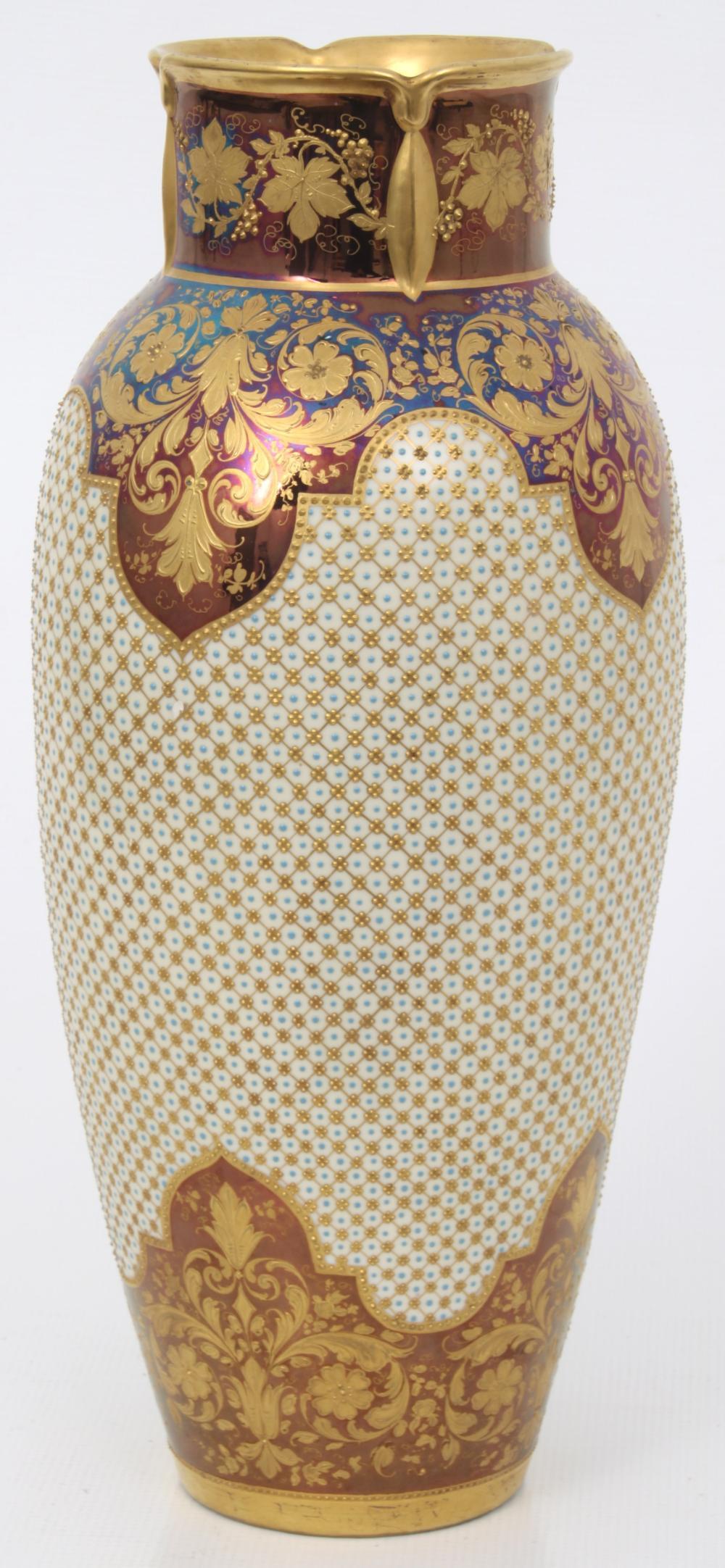 """Royal Vienna """"Aurora"""" Portrait Vase"""