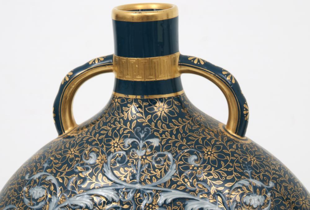 Pair of Mintons Pate-Sur-Pate Vases