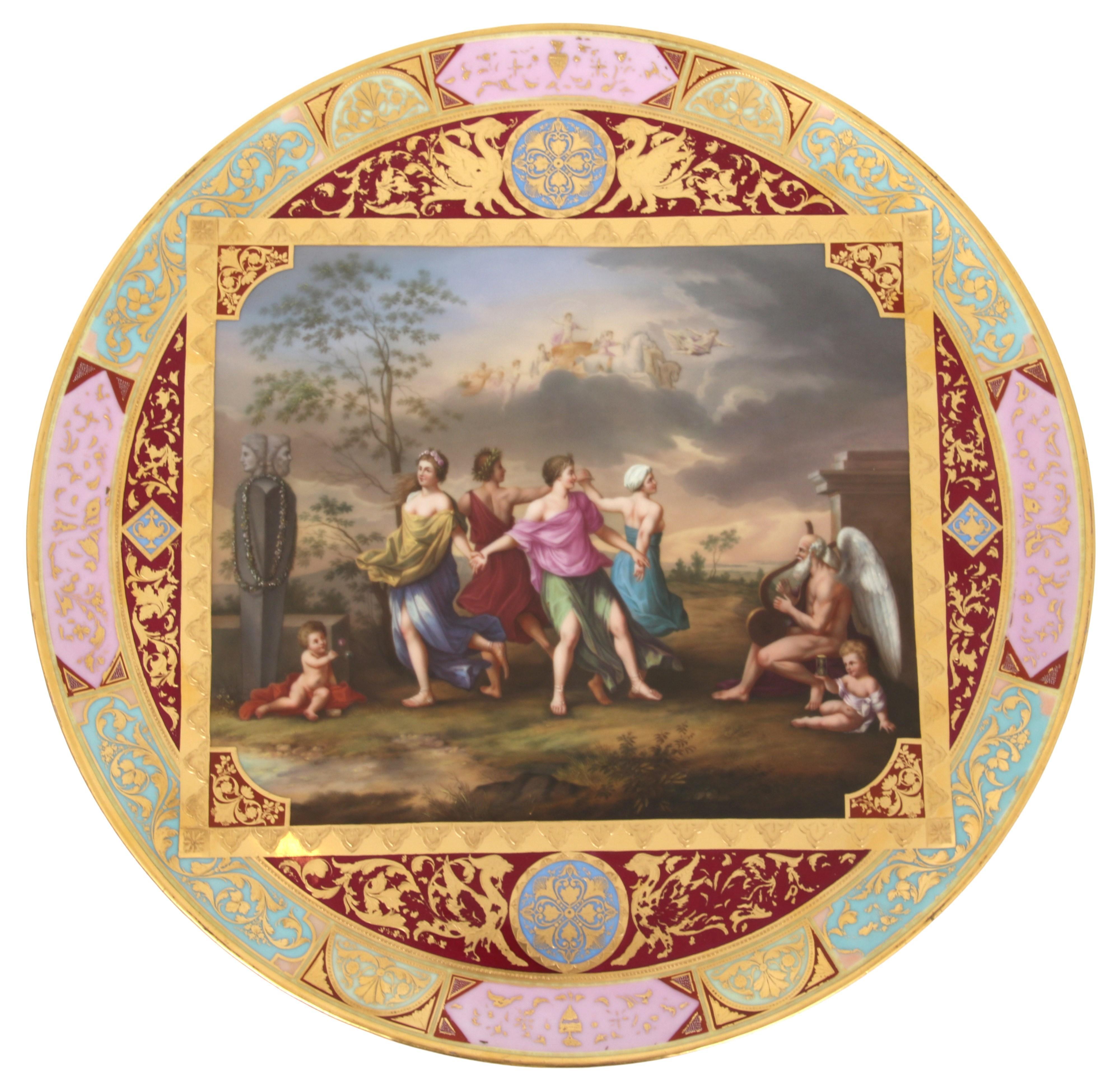 Royal Vienna Porcelain Charger