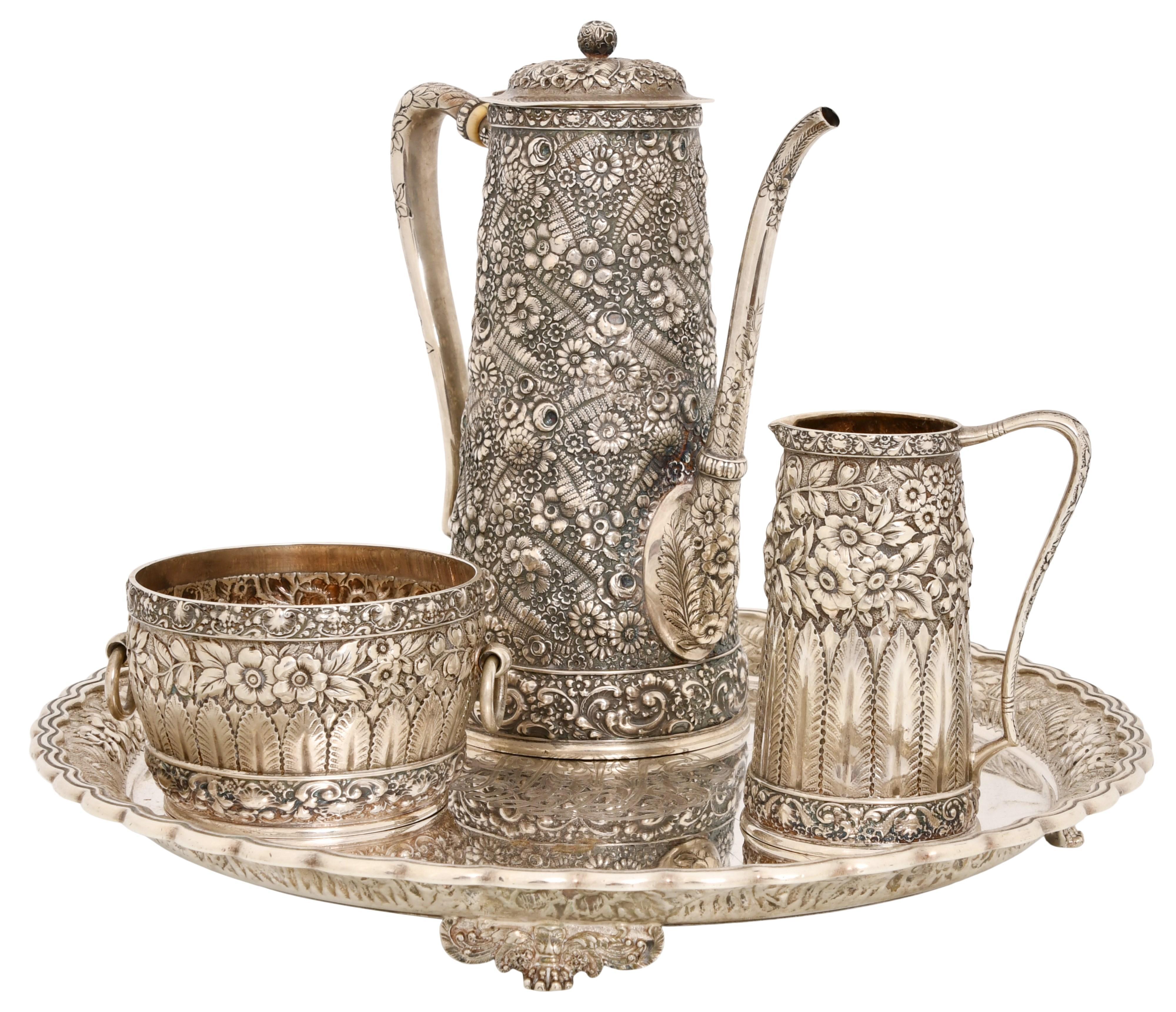 Tiffany & Co. Sterling Silver Coffee Set