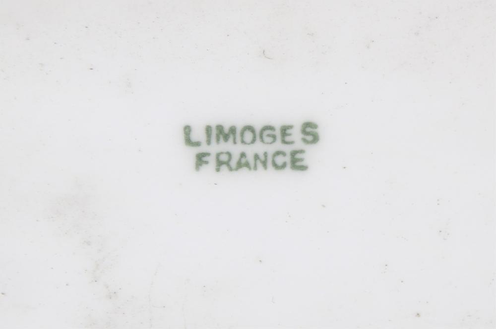 Limoges Porcelain Plaque of Three Women